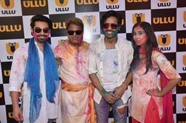 A Grand Holi Bash Celebrated at ULLU