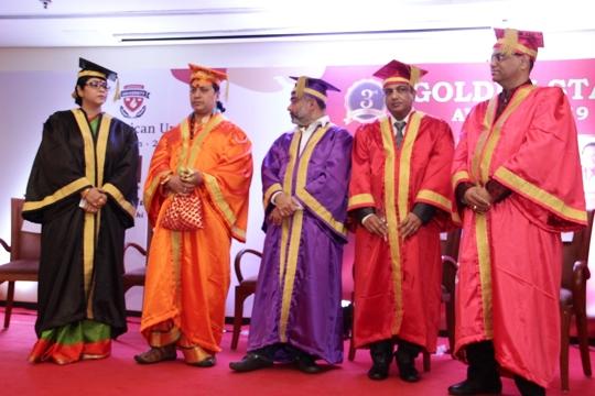 Dr. Sohini Sastri Honoured With D. Litt