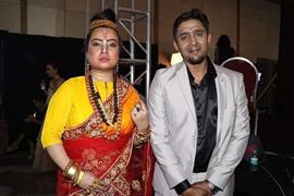 Dr. Atlanta Kaashhyap  Honoured With Best Dress Designer CHITTARA AWARD  At Bangalore