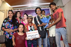 Bhojpuri Film Nafrat Ki Chingari Muhurat Performed In Mumbai