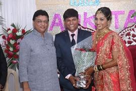 GLIMPSES OF KALYANJI JANA AND ANKITA BABULKAR'S WEDDING IN MUMBAI
