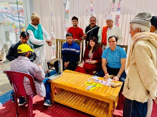 Dr Sunita Dube Starts Fitindia Project At Gangotri – Badrinath In Uttarakhand