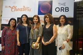 The Cheaters Hosts An Evening For Poonam Soni & Her Friends