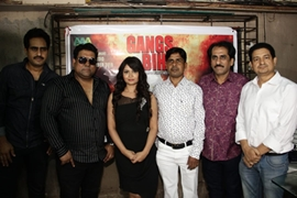 Musical Muhurat of the film Gangs of Bihar at Lata Mangeshkar Studio