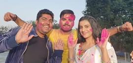 Akshara Singh and Kallu starrer film Shubh Ghadi Aayo completes shooting