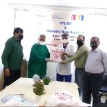 Rotary Mid Town – Distribution Of Masks And PPE Kits To Protect Against Corona