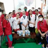 In the Corona Era the Rotary Club In Mumbai Distributed Masks – Sanitizers And Chocolates