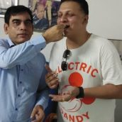 Dr Dharmendra Kumar Chairman Of RK HIV AIDS Resarch And Care Centre's  Mission Against Corona Praised By Bollywood Actor Vivek Oberoi