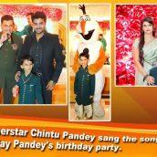 Kanish Pandey Grand Birthday Celebration With Family And Friends in Taj Land