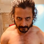 Bollywood Actor Man Singh's workout photos went viral on social media .