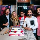 On Yogesh Kumar's Birthday The Success Party Of Kimmy Sharma's Song  LONG SEPARATION Was Also Celebrated