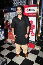 Singer Bishwajit Ghosh of Fledge Entertainment at WEE Awards 2019