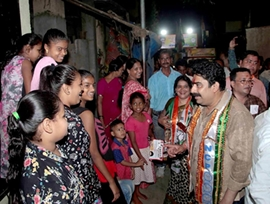 Sanjay Dina Patil Is A People's Person  Said By His People From The Mumbai North East Constituency