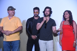 Famous filmmaker Mr Mehul Kumar has launched the First look of Web Series ANDHERI WEST – FILMY CITY