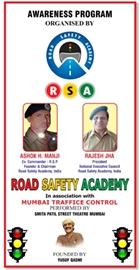 Smita Patil Street Theatre Celebrate Road Safety Week In Mumbai & Gujarat