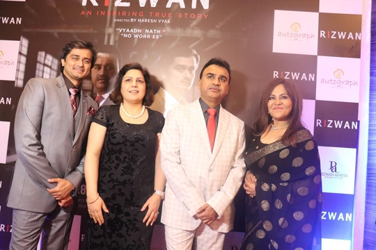 The Biopic Rizwan of the famous Social Worker Rizwan Adatiya has been Released in Theaters from 28th February In Maharashtra-  Gujarat and many States