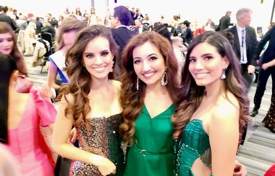 Miss World America Washington Shree Saini spotted watching Miss World in London, United Kingdom