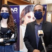 Urvashi Rautela Launches goKoronago.com Of N R Group Which Is A Platform To Buy Essential Products From Home At Almost HALF The Price