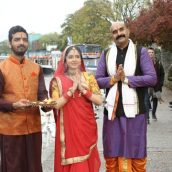 Director Kumar Saurav Sinha has teamed up with British and Indian actors to shoot Chhath Puja music video in London