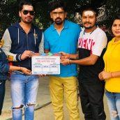 On the auspicious occasion of Chhath Puja  Ratnakar Kumar presents Bhojpuri film Jaisi Karni Waisi Bharni  Muhurat Performed