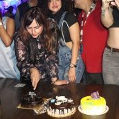 Actress Anupam Shukla Grand Birthday Celebration With Celebrity And Friends