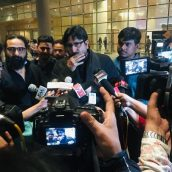 Maulana Yasub Abbas  Interacted With The Media At Mumbai Airport And Spoke On Many Current Issues